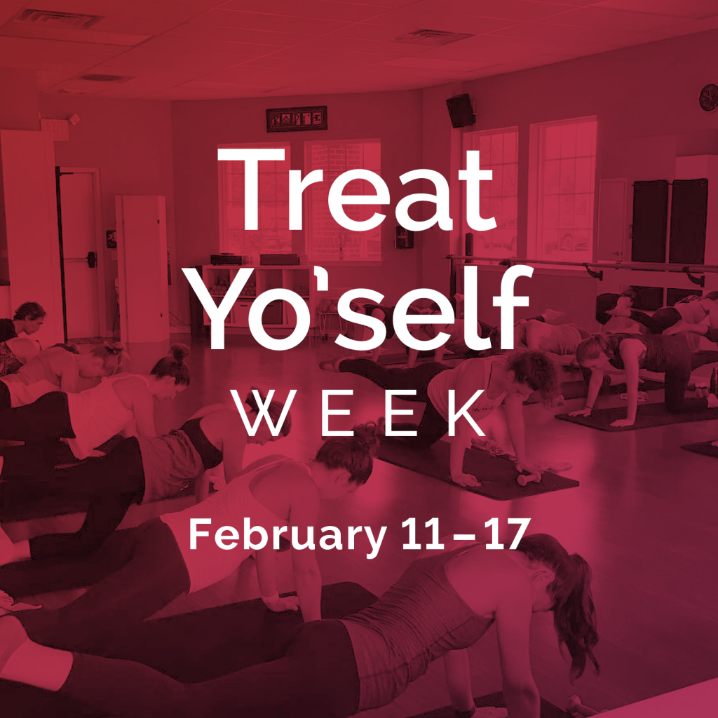 treat yoself week lancaster lititz barre studio
