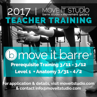 Move It Barre Teacher Training