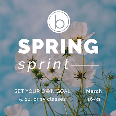 Spring Sprint 2019 starts March 16!